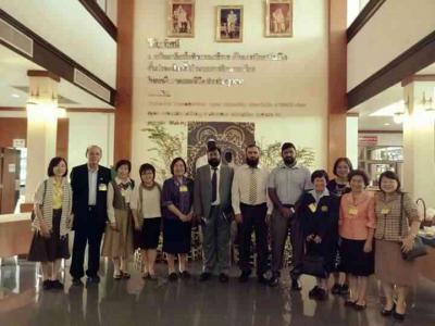 ความร่วมมือระหว่างสมาคมห้องสมุดแห่งประเทศไทย และ สมาคมห้องสมุดแห่งประเทศปากีสถาน